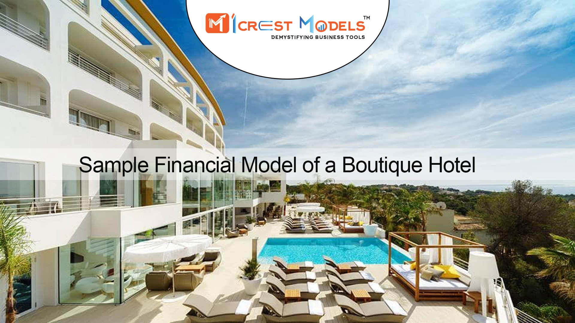 Financial Model of a US based Boutique Hotel (Acquisition and Construction along with refinance)