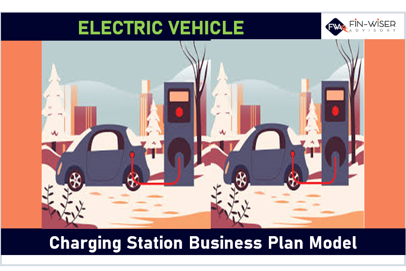 Electric Vehicle (EV) Charging Station - 2 Statement Financial Model with 5 Year Monthly Projection