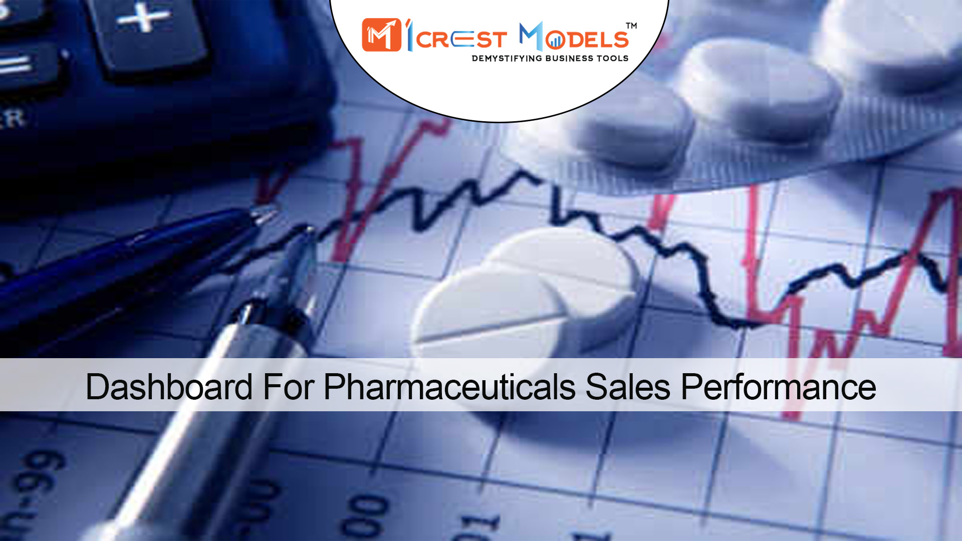 Dashboard For Pharmaceuticals Sales Performance