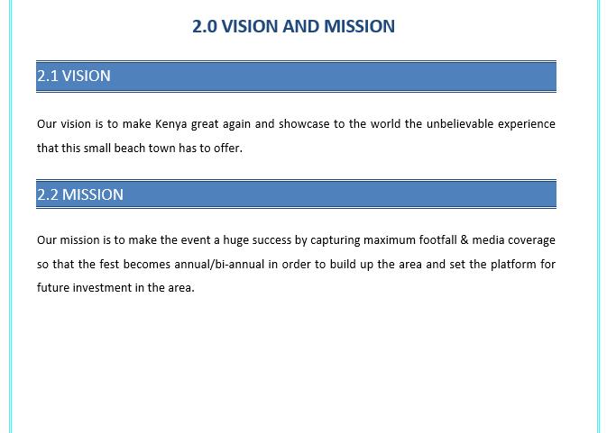 Business Plan of Beach Club
