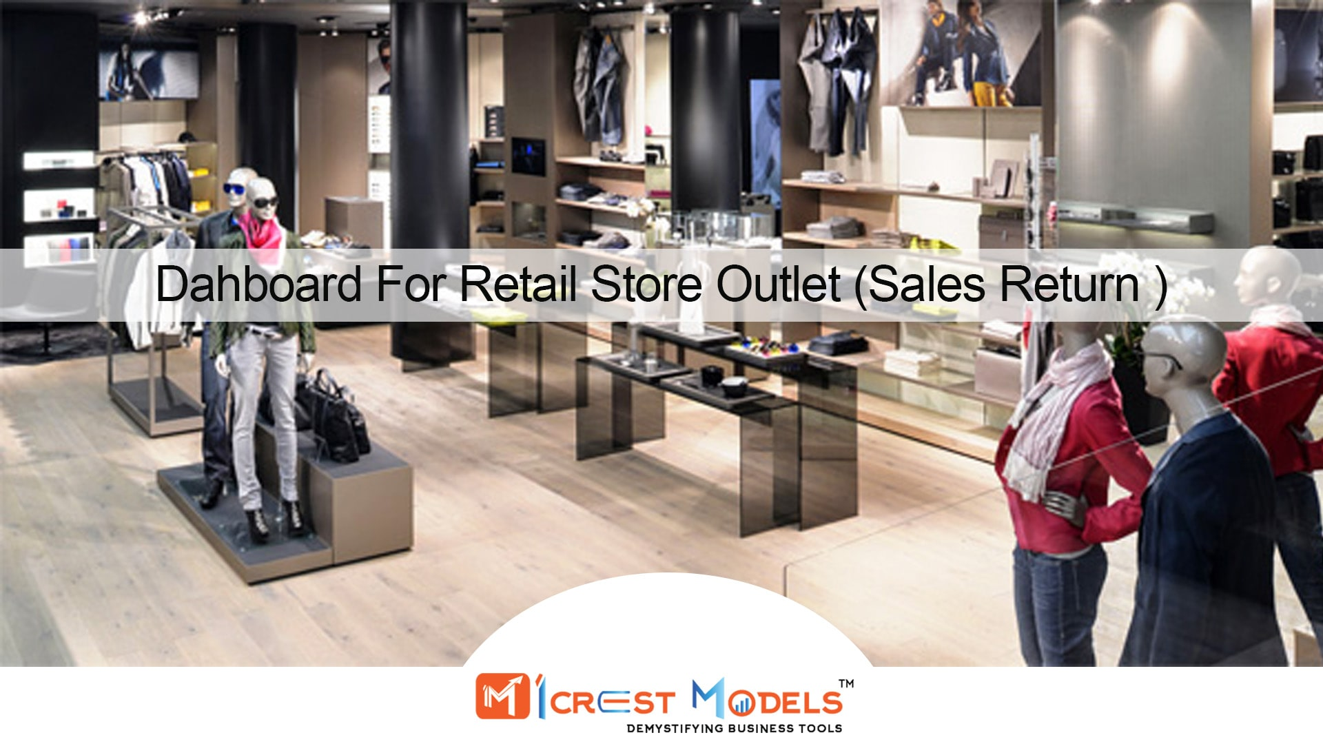 Dashboard For Retail Store Outlet (Sales Return)