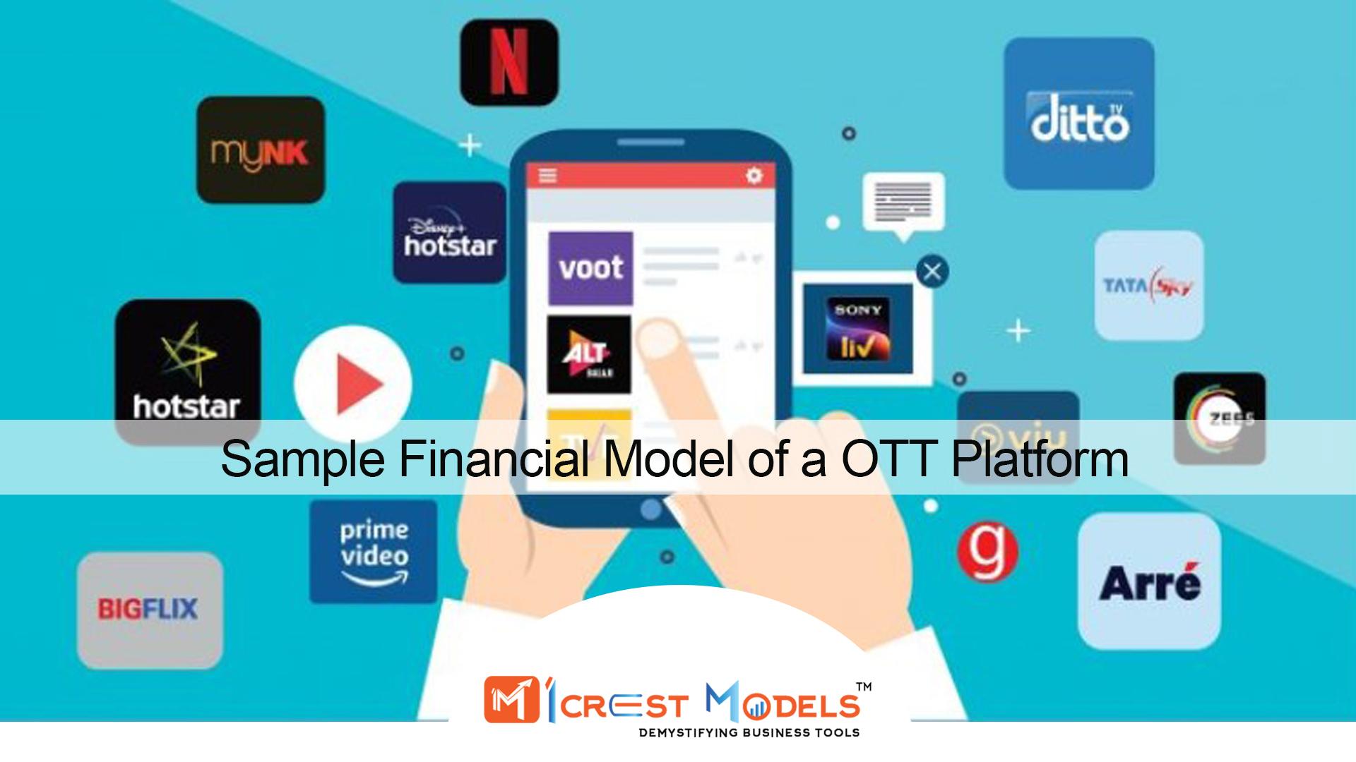Financial Model For OTT Platform