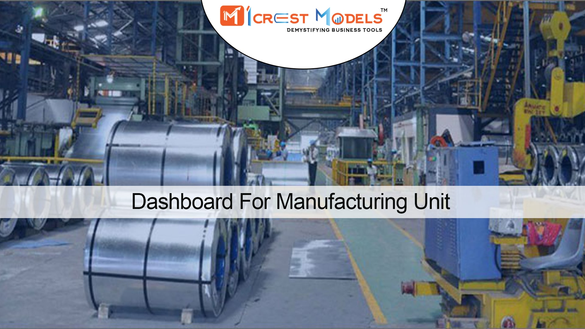 Dashboard For Manufacturing Unit