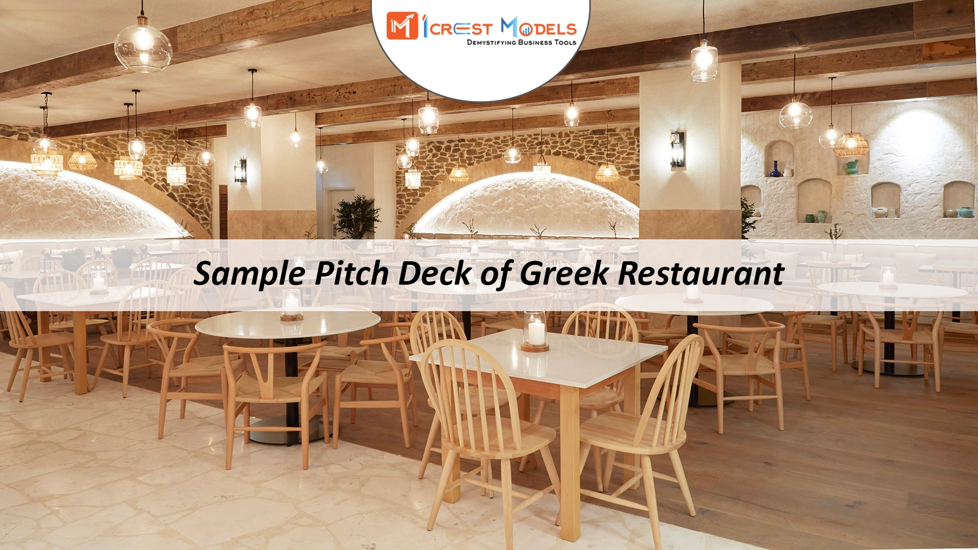 Pitch Deck of Greek Restaurant