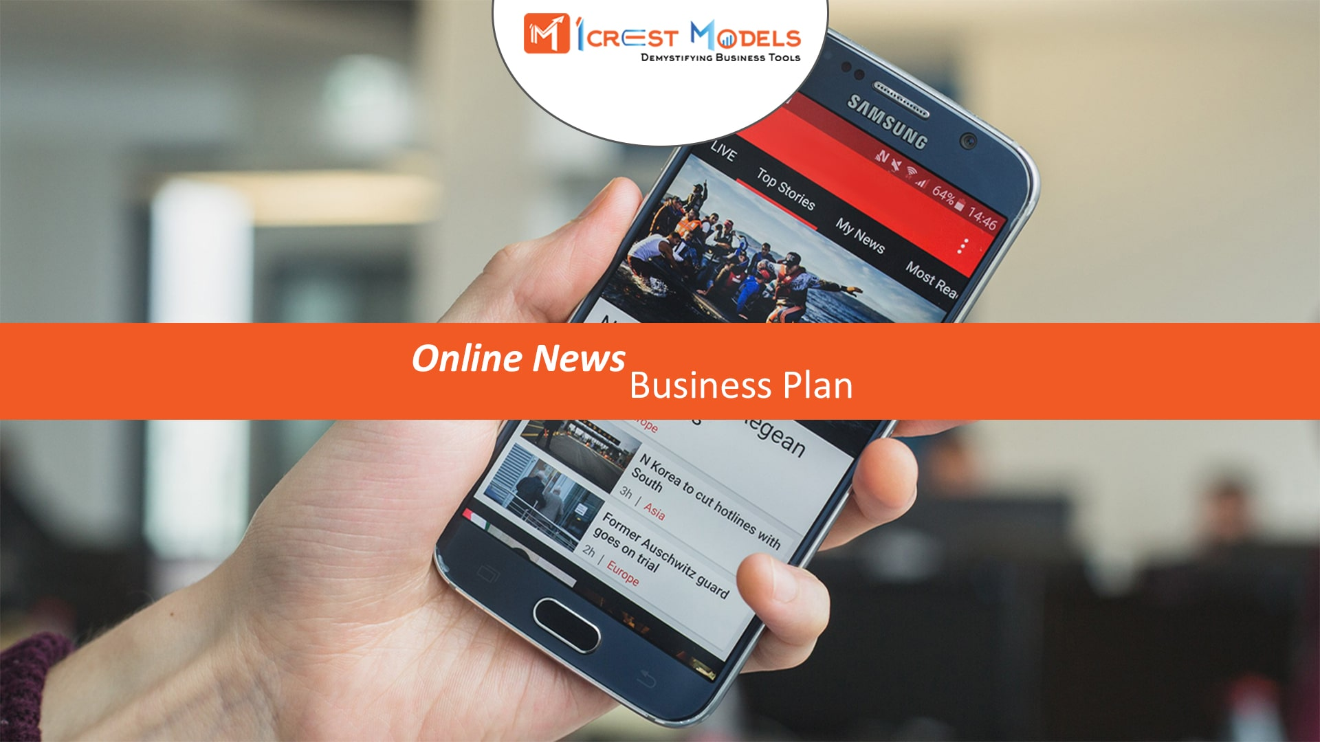 Business Plan of a Short Local News App