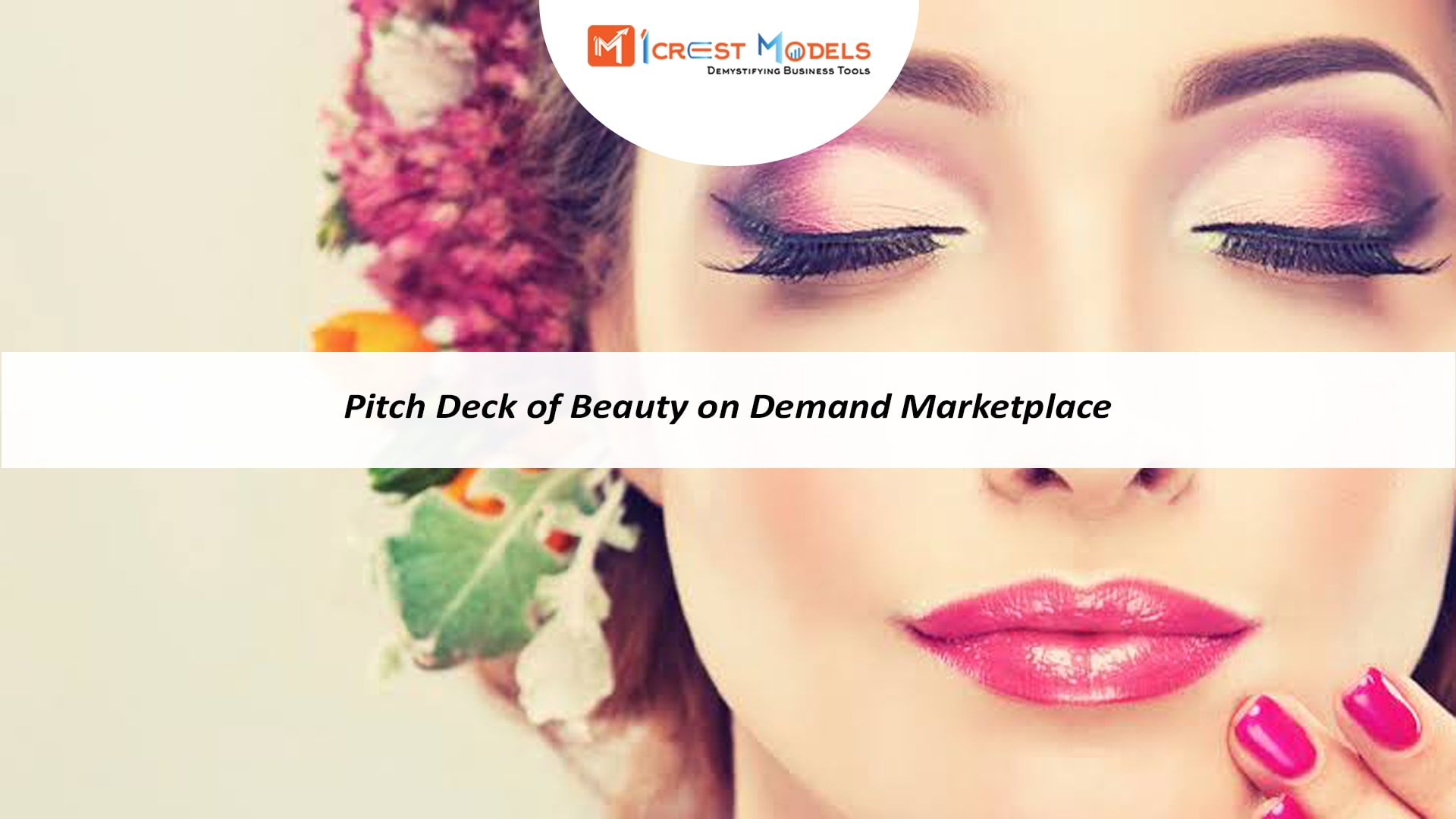 Pitch Deck of Salon and Beauty Marketplace Business