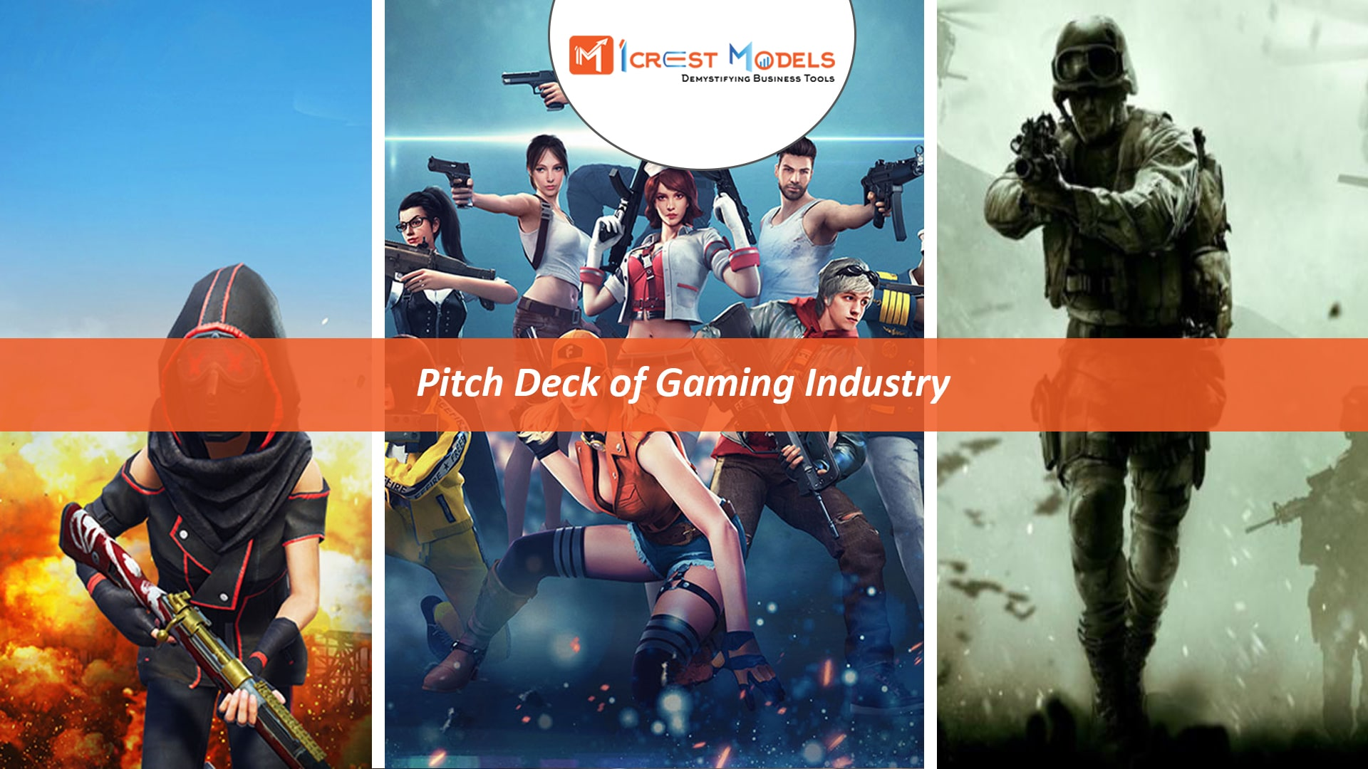 Pitch Deck of an Online Gaming Marketplace Business
