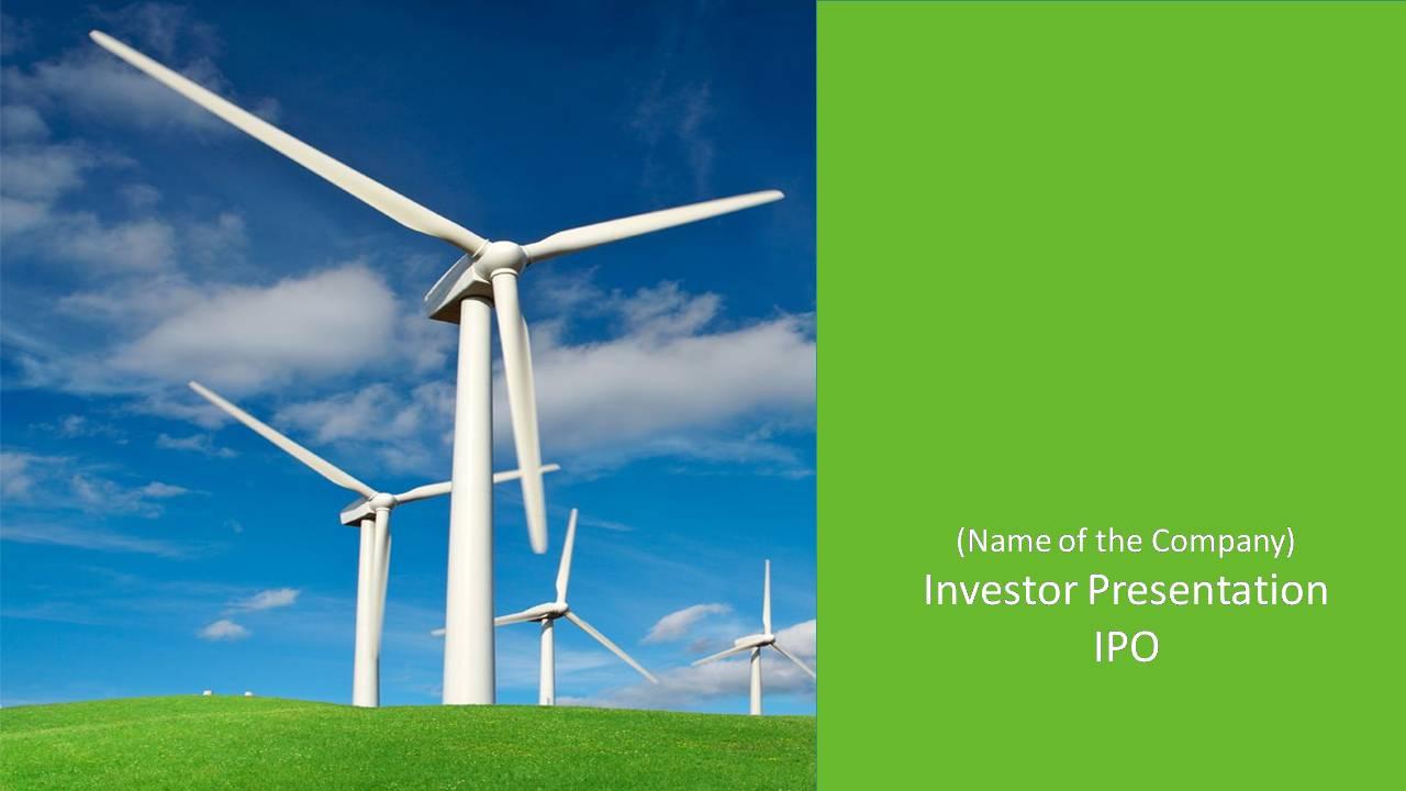 IPO Investor Presentation