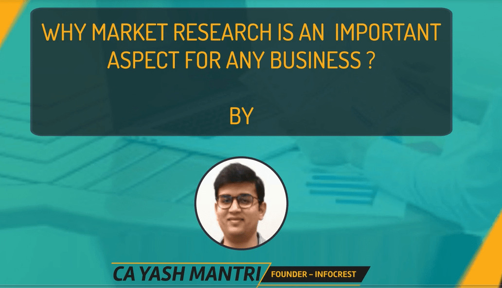 Why Market Research is one of the most important aspect for any business