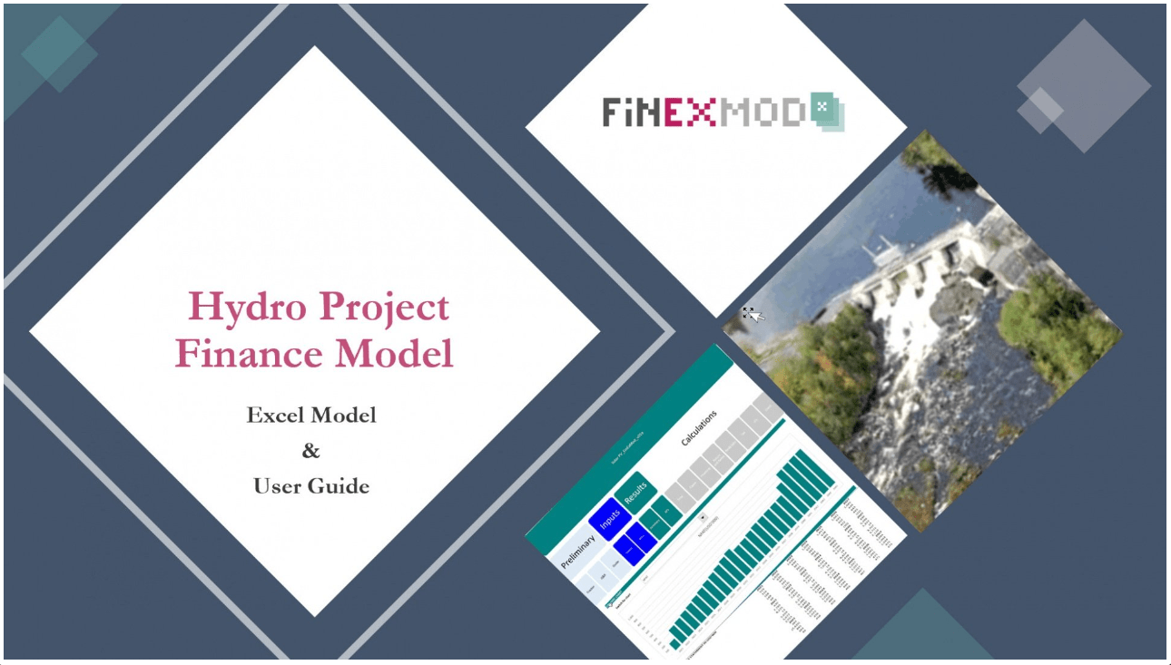 Hydro Project Finance Model (Excel Model & User Guide)