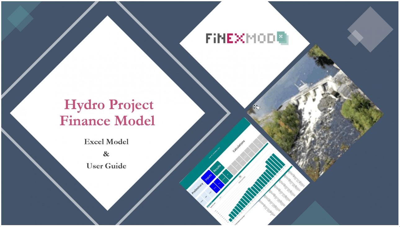 Hydro Project Finance Model (Excel Model & User Guide)