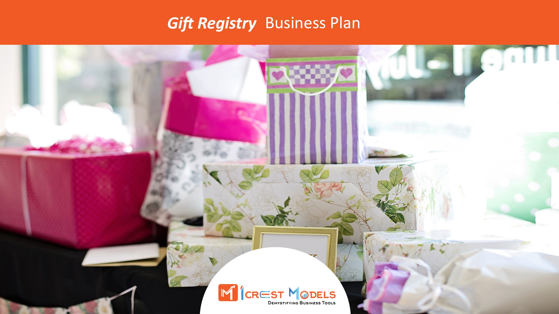 Business Plan of an Online Gift Registry