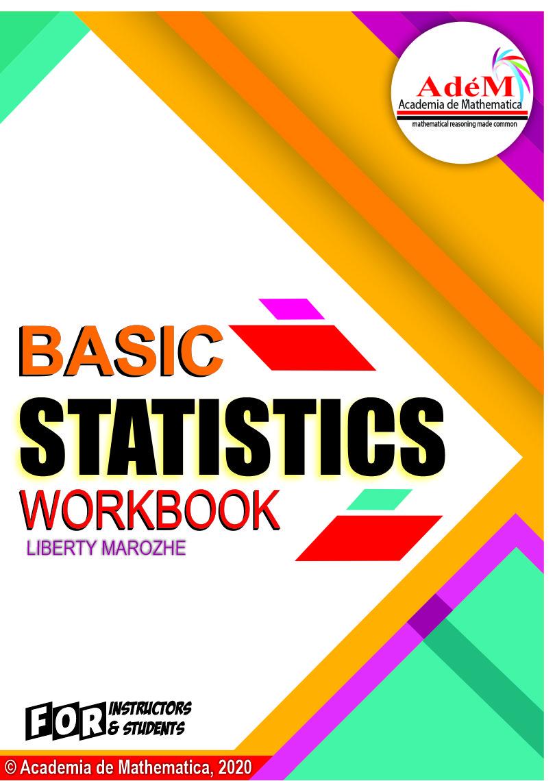 Basic Statistics Workbook