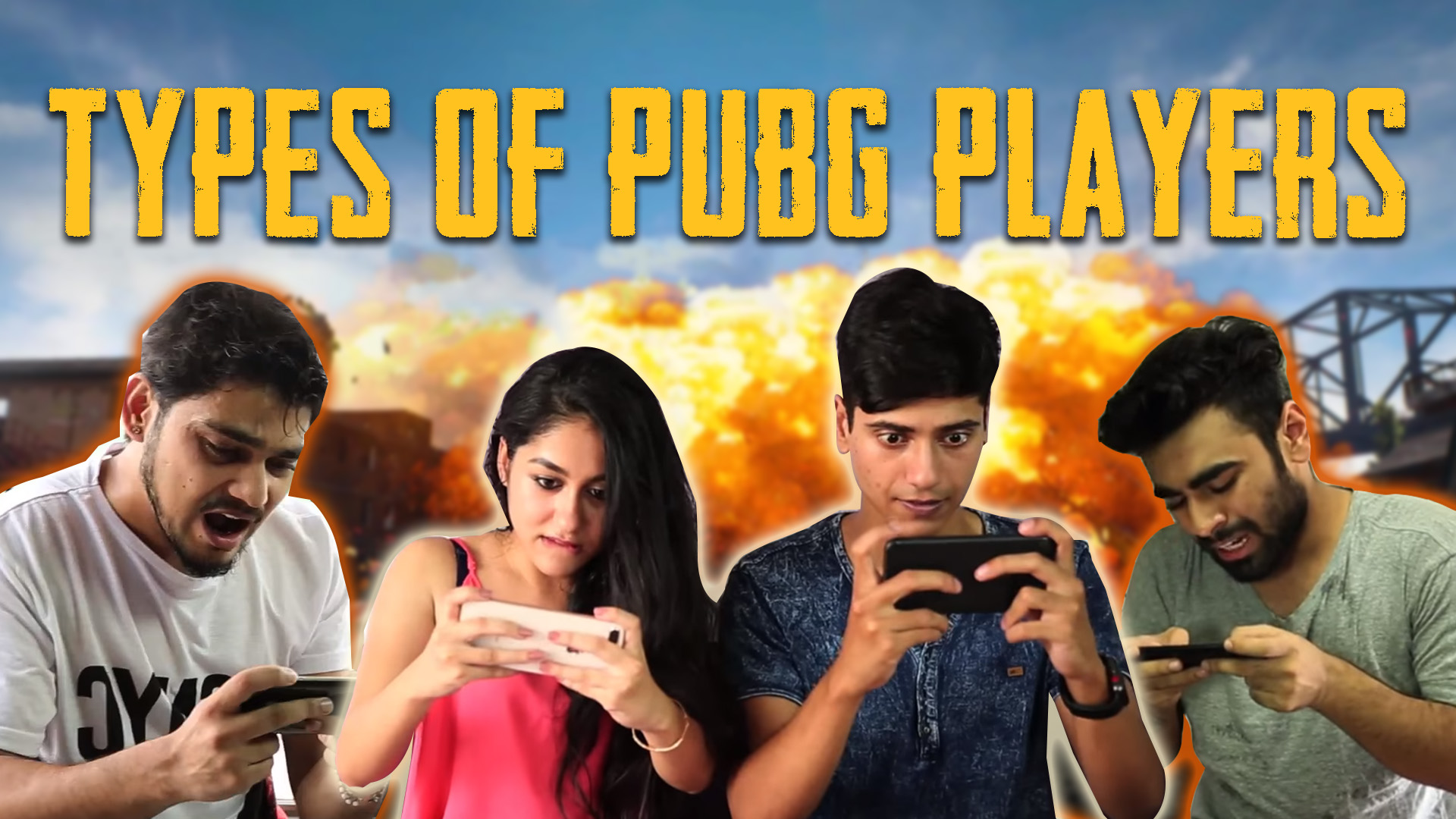 Case Study: Hubhopper Podcast App - Types of PUBG Players