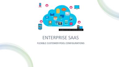Enterprise SaaS: Three Customer Pool Configurations