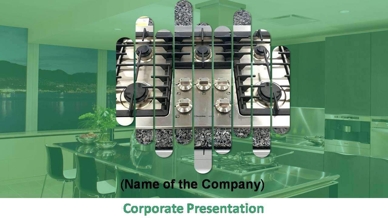 Kitchen Equipment Appliances Business Presentation