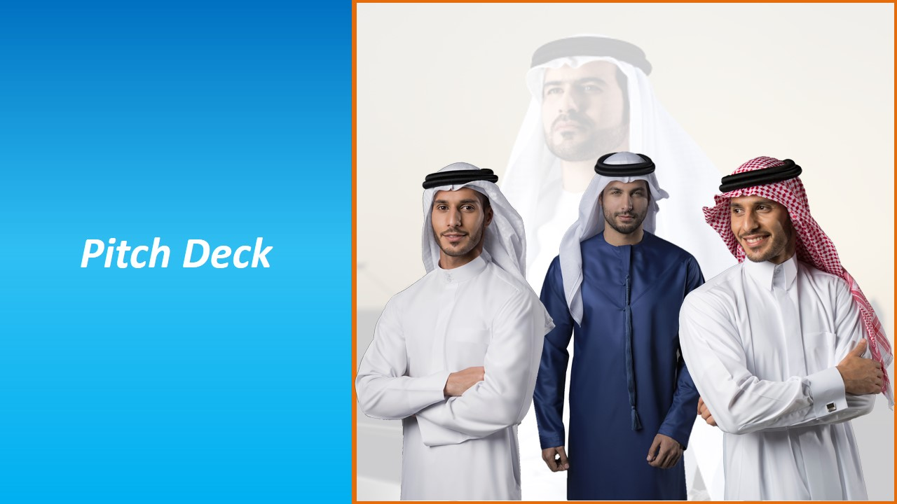 Pitch Deck of a Middle East based Fashion Boutique dealing with Men's wear
