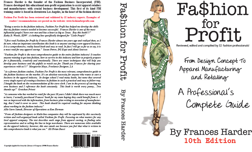 Fashion for Profit Book (Design Concept..Apparel Mfg and Retailing, A Complete Business Plan