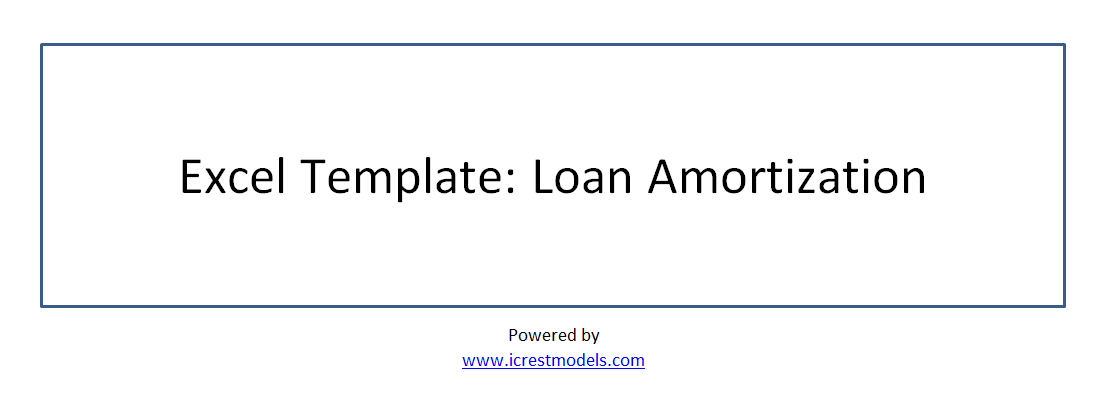 Loan Amortization Table