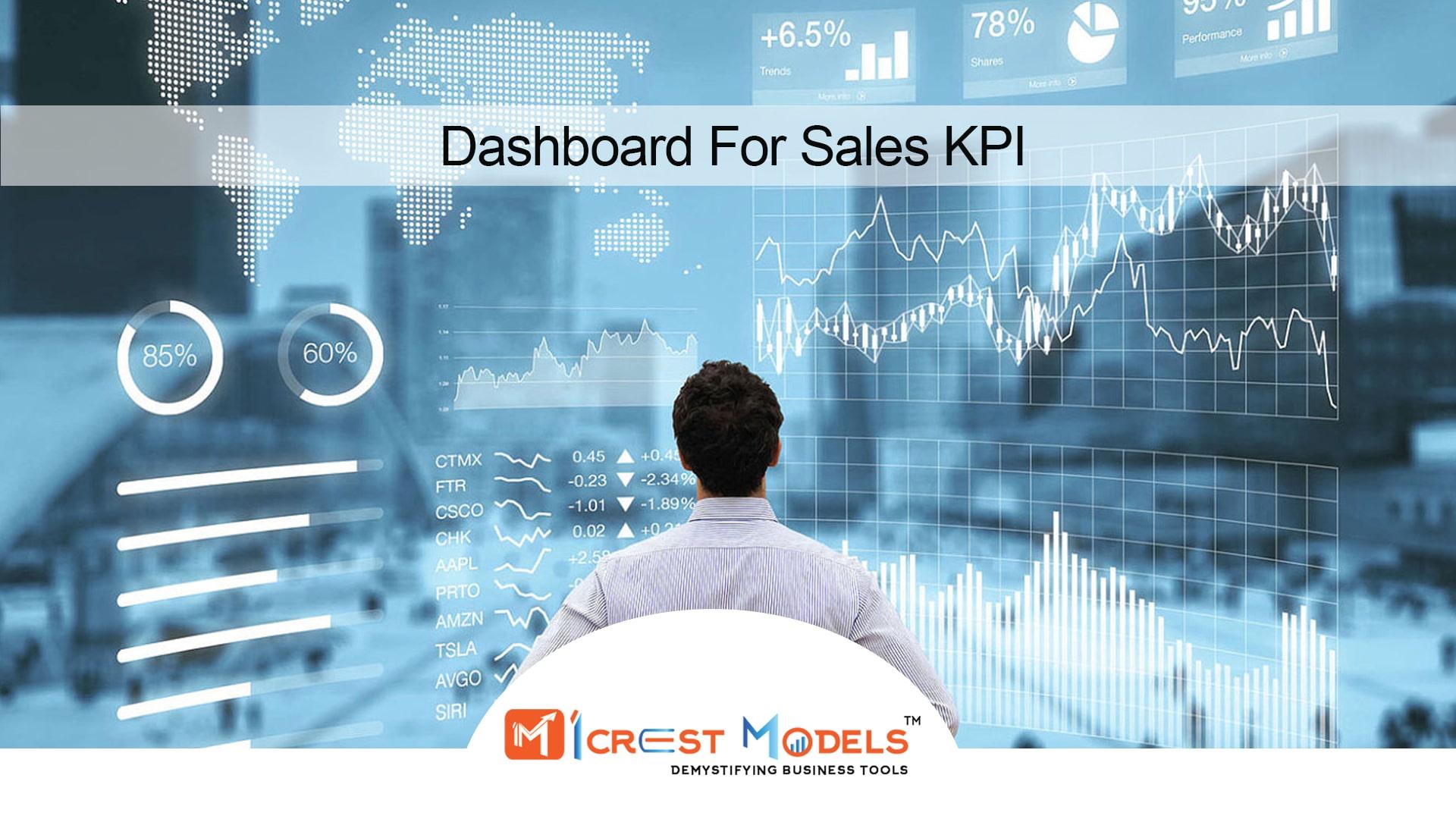 Dashboard For Sales KPI
